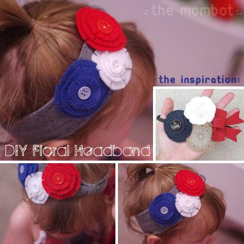 diy floral headband, headband tutorial, headband how-to