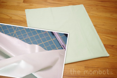 diy diaper pail liner, reusable pail liner, diaper pail liner how to