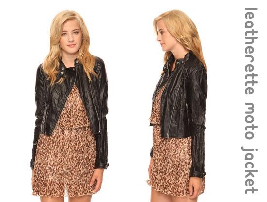 leatherette jacket, leather jacket, motorcycle jacket