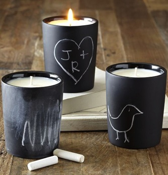 Diy chalkboard candles2