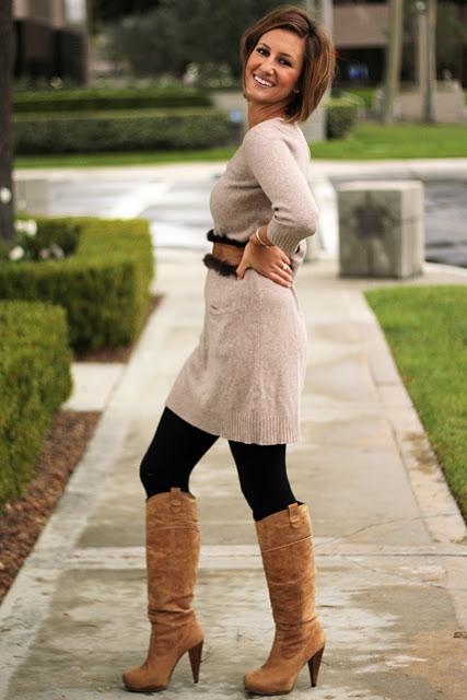 sweater dresses, knit tunics, sweater tunics
