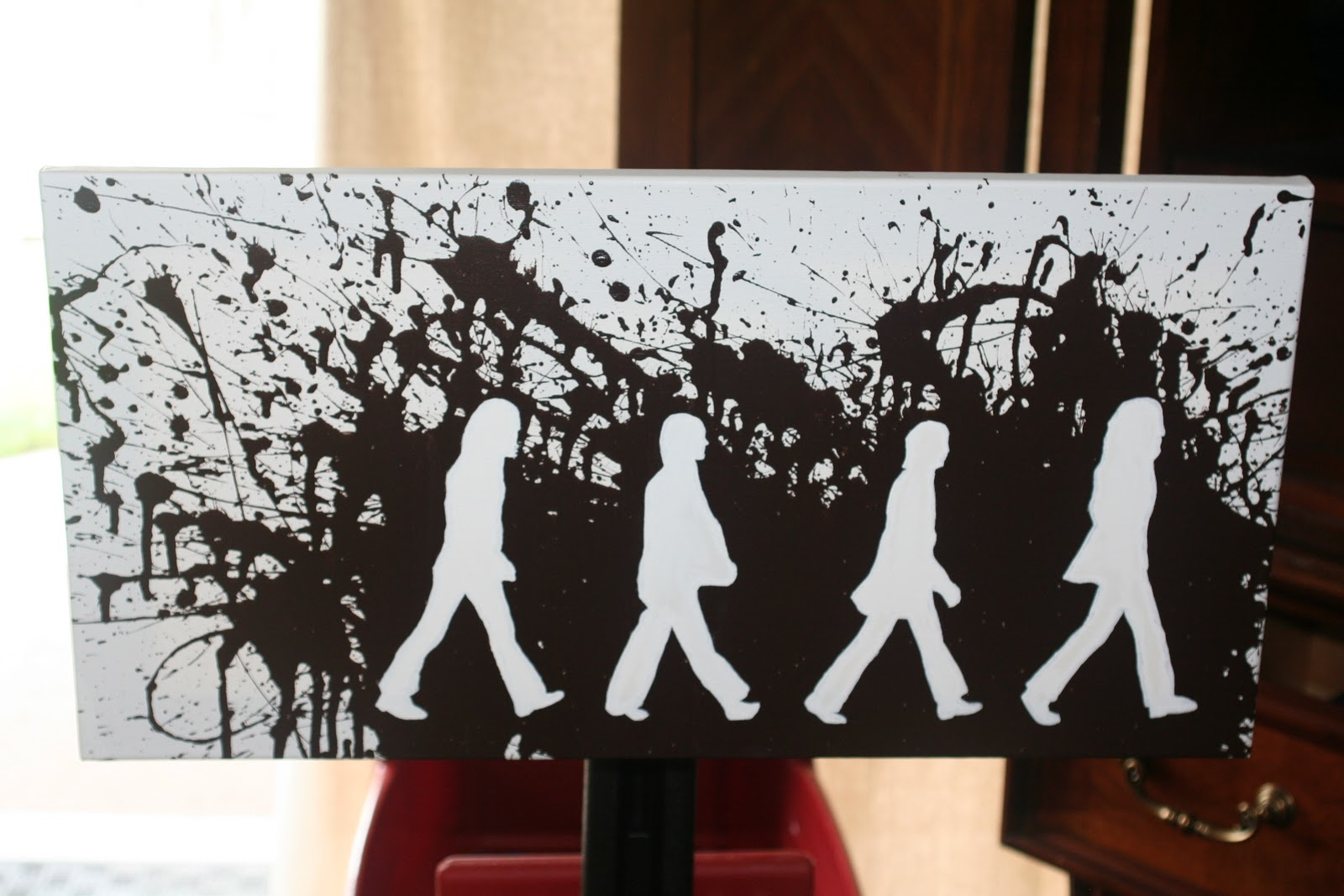 diy gifts for men, diy gifts, diy abbey road art