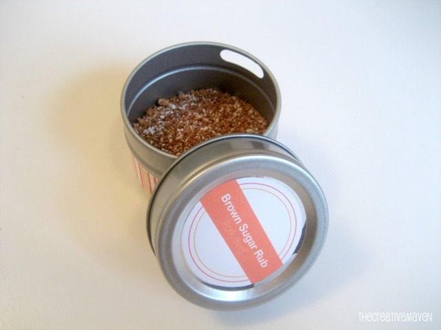 diy gifts for men, diy gifts, diy spice rubs