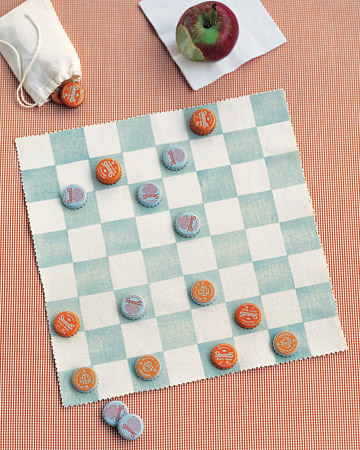 DIY gifts for kids, DIY gifts, homemade checkerboard