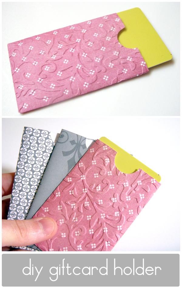 gift card holder, printable gift card holder