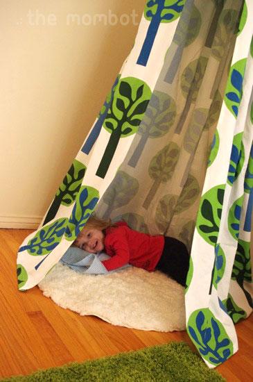 diy tent homemade indoor tent diy hanging tent & DIY indoor hanging tent - The Mombot