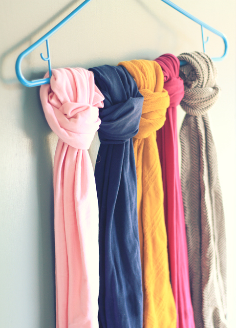 organization, closet organization, scarf organization, tights organization