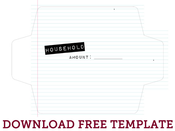 Cash Envelope System Free Printable  The Mombot