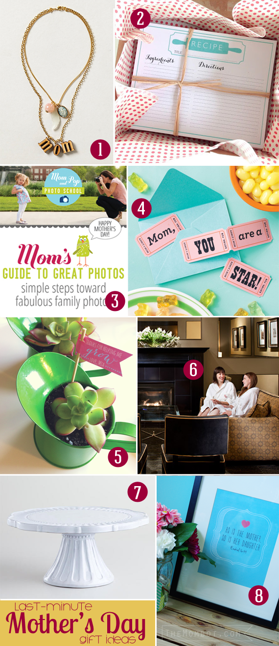 last-minute mother's day gift ideas | themombot.com