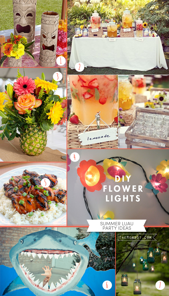 Summer Luau Party Ideas Including Diys The Mombot