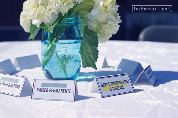 retirement party decor for dad | themombot.com