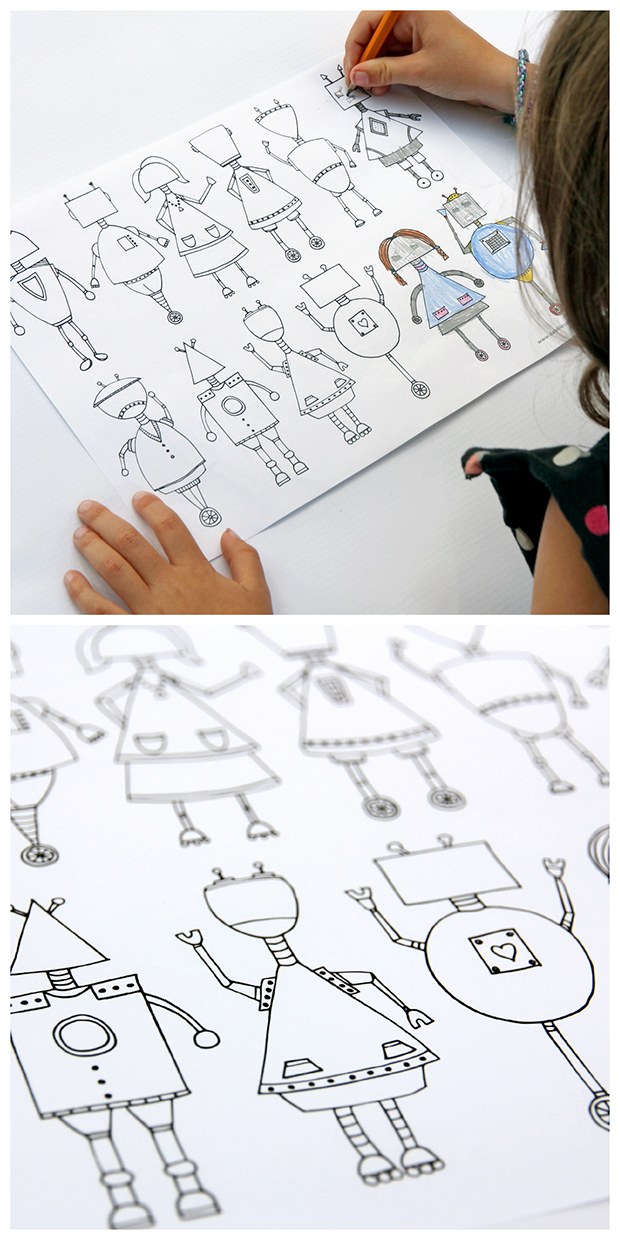 free printable coloring sheets for crafty kids | TheMombot.com