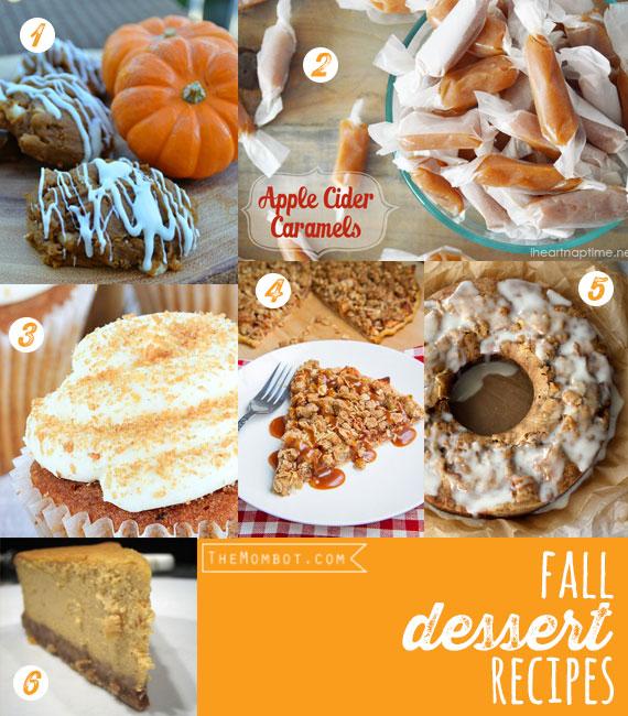 Fall dessert recipes (20 fall recipes) | TheMombot.com