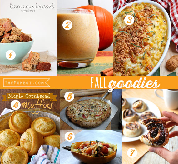 20 fall recipes | TheMombot.com