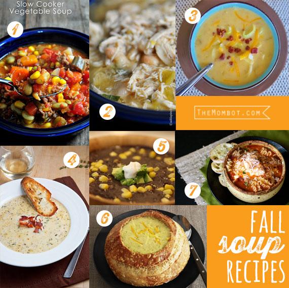 Fall soup recipes (20 fall recipes) | TheMombot.com