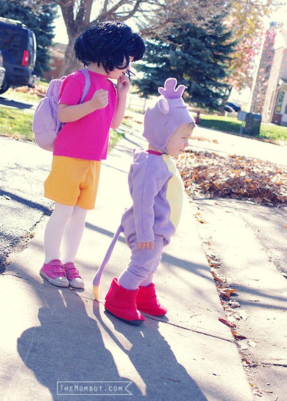 Dora & Boots costumes, Halloween   TheMombot.com