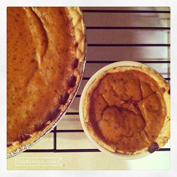 pumpkin pies | TheMombot.com