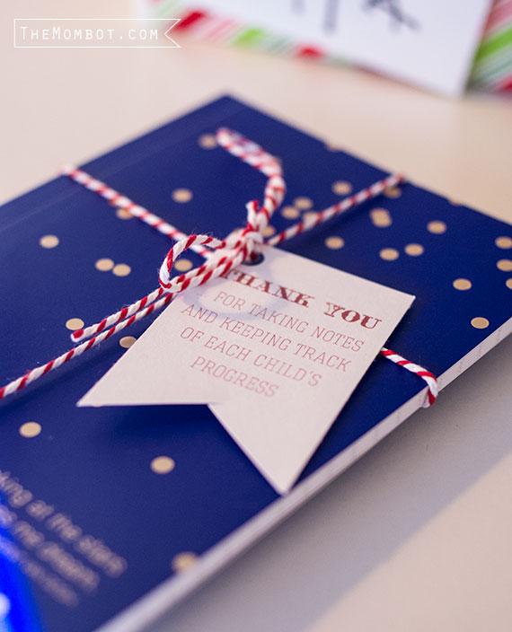 Christmas gift for preschool teachers | TheMombot.com