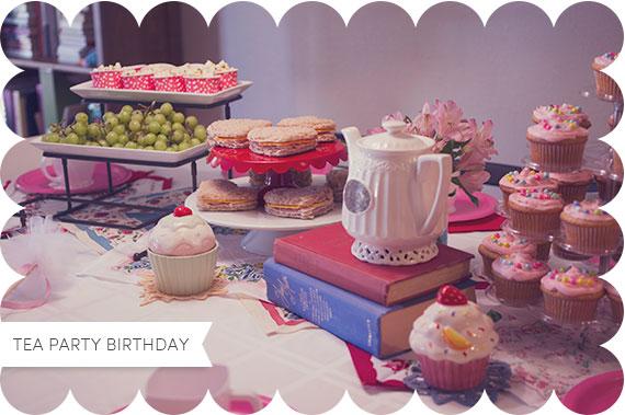 Tea Party Birthday with Tutus | TheMombot.com