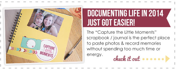 Capture the Little Moments journal/scrapbook | TheMombot.com