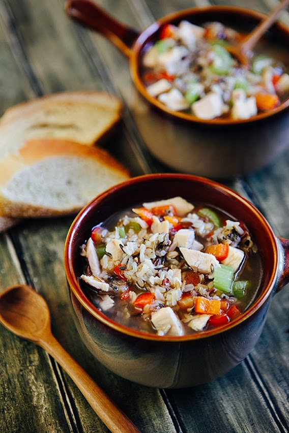 Chicken and wild rice soup recipe | TheMombot.com