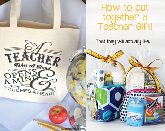 End of the year teacher gift ideas | TheMombot.com