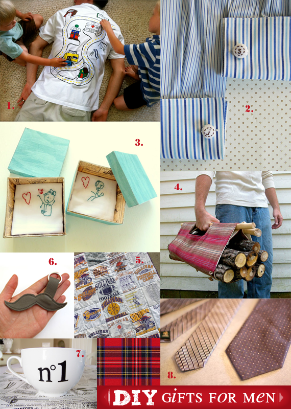 Diy Gifts For Men 2012 Edition The Mombot